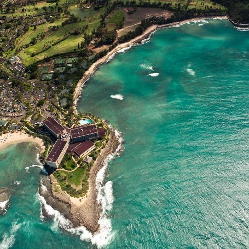 Turtle Bay Resort @ Hawaii(via Fancy)