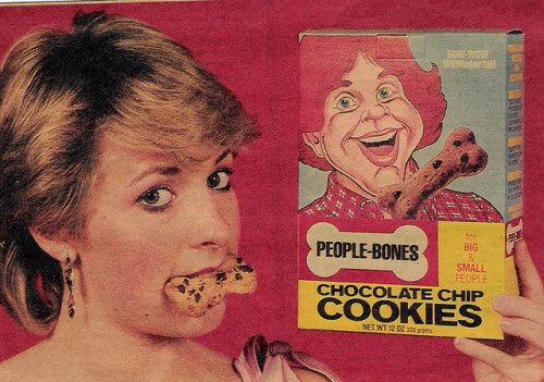 People-Bones Chocolate Chip Cookies (1982)