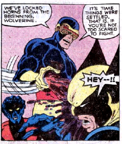 and who said Cyclops was lame?