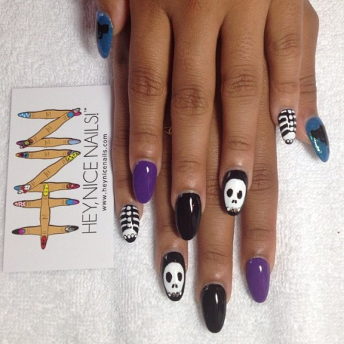#nailart #lbc #heynicenails  (at Hey, Nice Nails!)