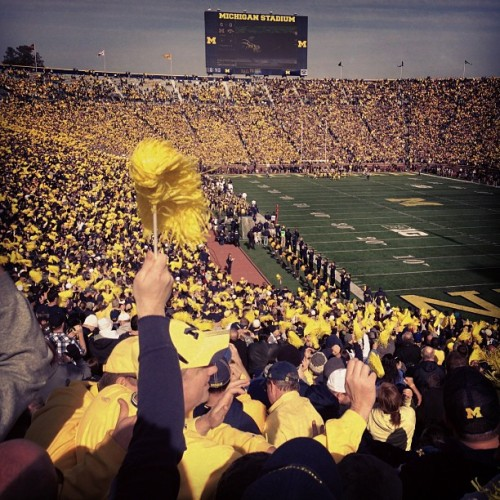 Good turnout.  (at Big House)