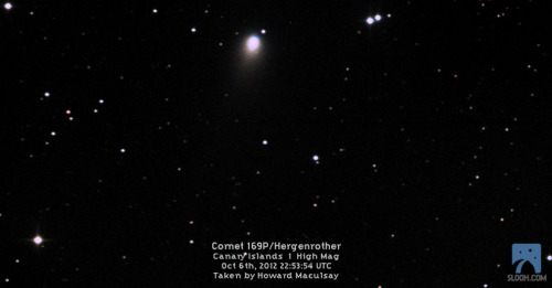 Breaking up is hard to do. Unless you are a comet: DNews blogger and radio astronomer Nicole Gugliucci presents some great astrophotography of Comet Hergenrother by astronomers who participate in the Virtual Star Party. Enjoy!