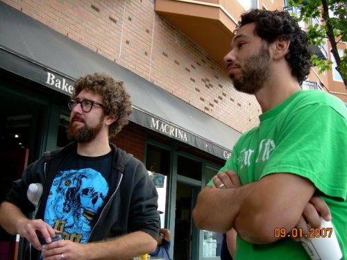 Alex Koll and Al Madrigal