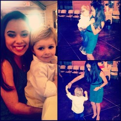 My handsome date 😘😉 #texas #wedding #greyson #ifoundmycowboy