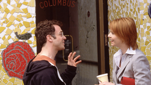 Miranda Hobbes and Steve Brady…love.