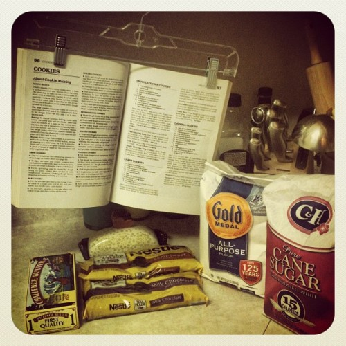 Cookie making time:) (at Portland Oregon)