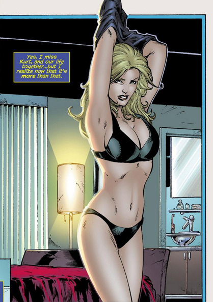 roxannameta:  stevesmithis:  Holy Black Canary…  Wow, I just had a weirdly starry eyed moment of shipping Black Canary and Nightcrawler… Also geeze, girl, put it away, you're making the rest of us jealous.