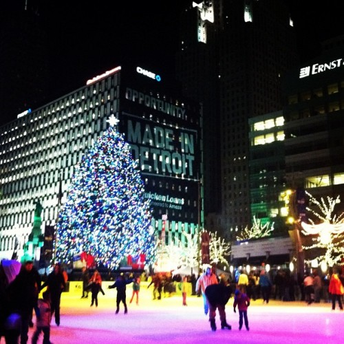 #DetroitIsBeautiful #Detroit  (at Campus Martius Park)