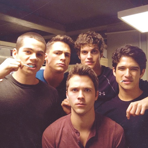 Some of the boy of Teen Wolf ,