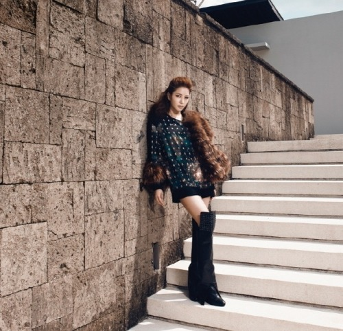 Boa for Instyle Magazine
