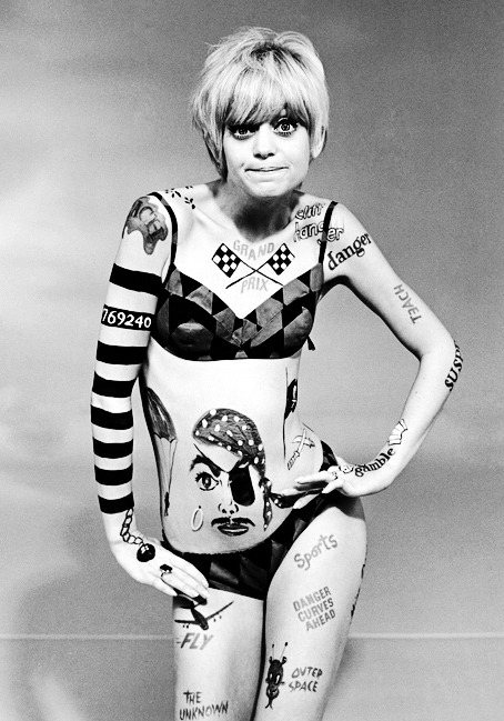 "vintagegal:  Happy Birthday Goldie Hawn (November 21, 1945)   ""Once you can laugh at your own weaknesses, you can move forward. Comedy breaks down walls. It opens up people. If you're good, you can fill up those openings with something positive. Maybe you can combat some of the ugliness in the world."""