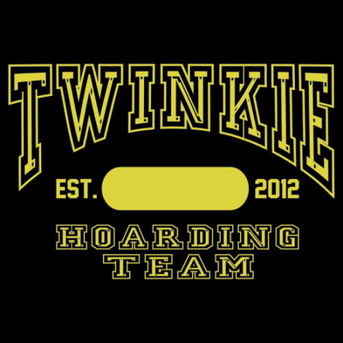 """Twinkie Hoarding Team"" T-Shirts & Hoodies by buzatron 
