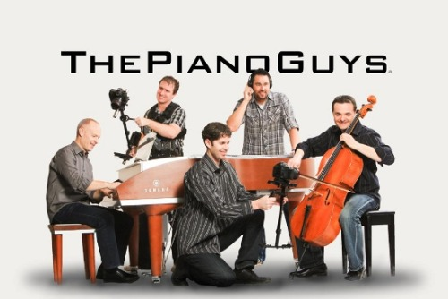 "The Piano Guys Genres: Rock, Classical, Pop Meet the piano guys: Jon Schmidt, Steven Sharp Nelson, Tel Stewart, Paul Anderson, and Al van der Beek. I had the privilege of hearing their rendition of One Direction's What Makes You Beautiful a few months ago when I came across it on Tumblr. They truly make use of every part of the instrument to create fantastic music. Formed in St. George, Utah, when Schmidt walked into Anderson's piano shop one day, this group has found the perfect way to modernize tradition and make it so everyone can find something to enjoy about a ""boring old cello and piano"" if they find Bach and Mozart to lame on their own or fill an old classicist's heart with new meaning to ""vulgar, sex-filled pop"". As well as doing covers of such hits as Rolling in the Deep and What Makes You Beautiful, they turn classics like Pachelbel's Canon in D into Rockelbel's Canon and bring a new edge to Beethoven by mixing in One Republic to the song Beethoven's 5 Secrets. The result are beautiful new age classical pieces that ANYONE can find enjoyable."
