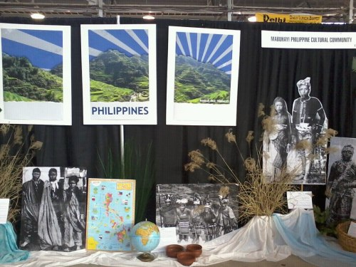 Philippine Culture Community Booth.
