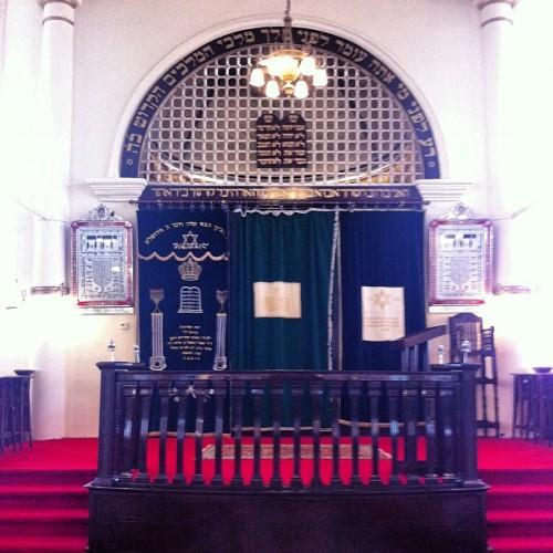 Ark #monument #singapore #sgmemory  (at Maghain Aboth Synagogue)
