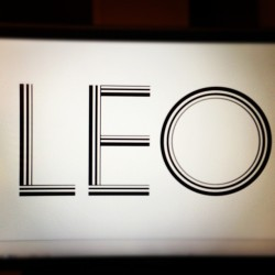 New type! #type #design #artschool #leo #sign #lines #graphicdesign #avantgarde #project #diseño #letras #tipografia