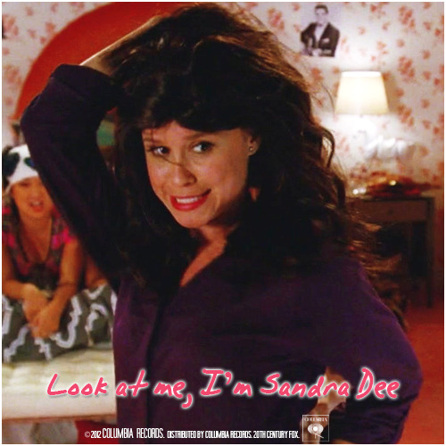 4x06 Glease | Look At Me, I'm Sandra Dee Requested Alternative Cover Request by walkingcontradiction93