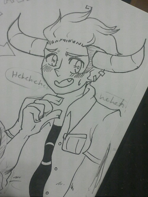 sketchkun:  Hey! Drawing Tavros is pretty fun!