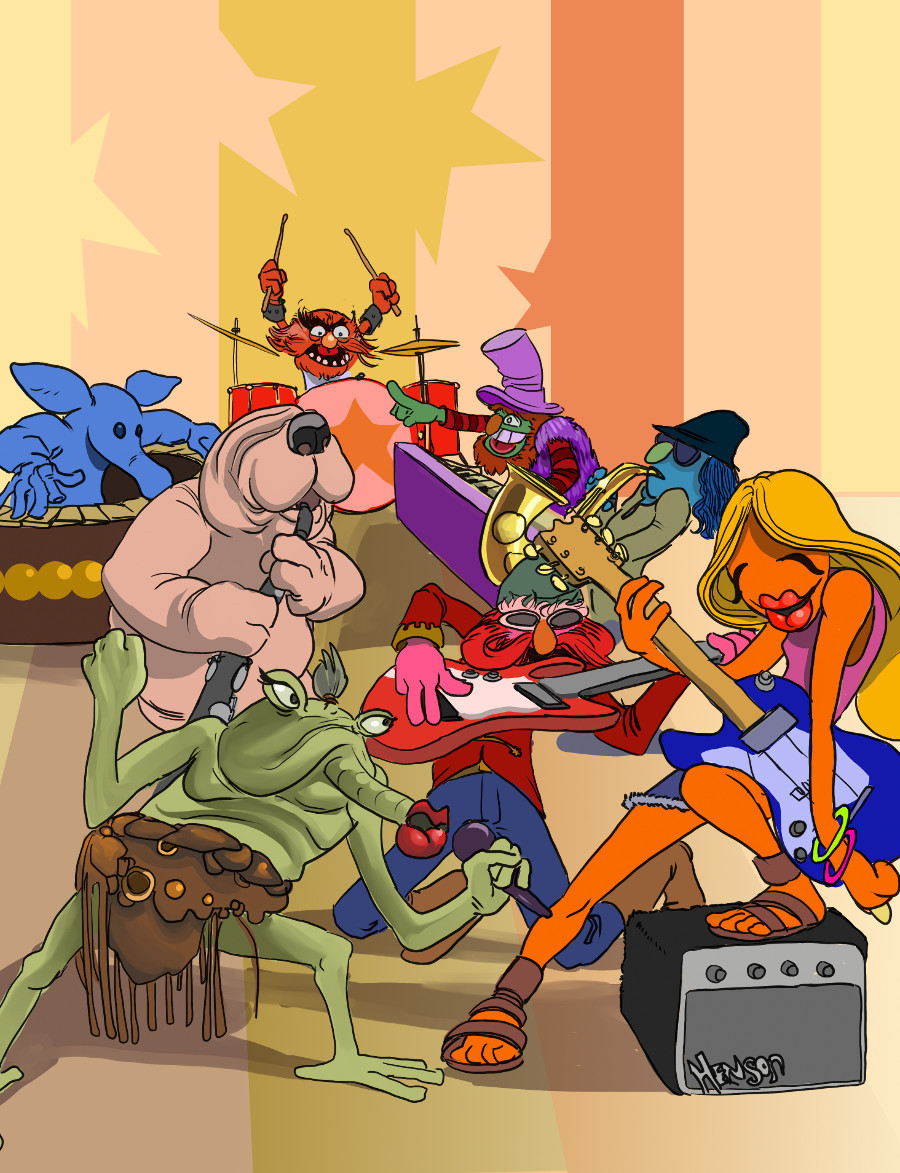Electric Mayhem vs Max Rebo Band by Sean McFarland