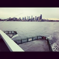 #seattle #ferry #island #instagood #city #skyline #elliottbay #pacific