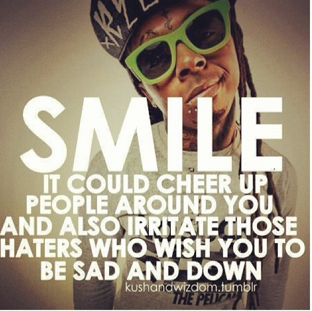 #true #quote #smile #haters