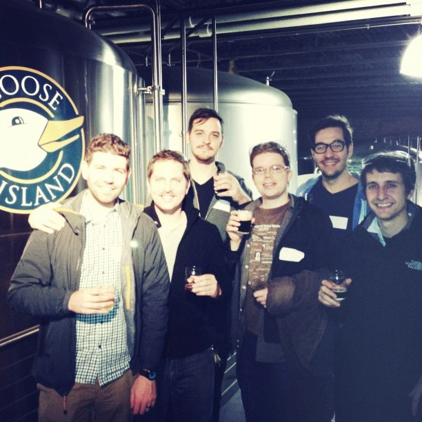 Goose IslandBrewery Tour #crossprocess