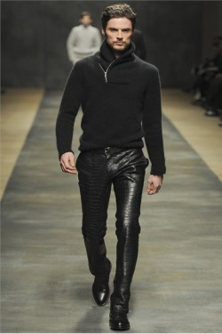 Hermès Fall Winter 2012 Reptile Trousers