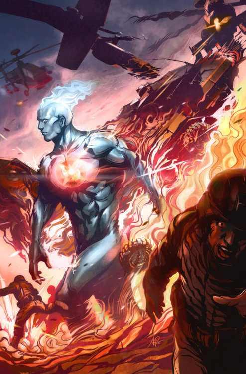 Captain Atom - By Artgerm on Deviantart