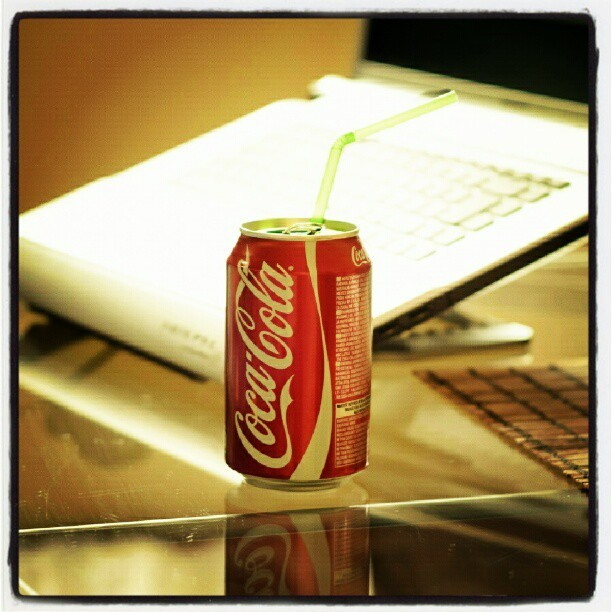 danielangello:  #Coke #Coca #Cola #Laptop #Notebook (at Open Plaza Canta Callao)