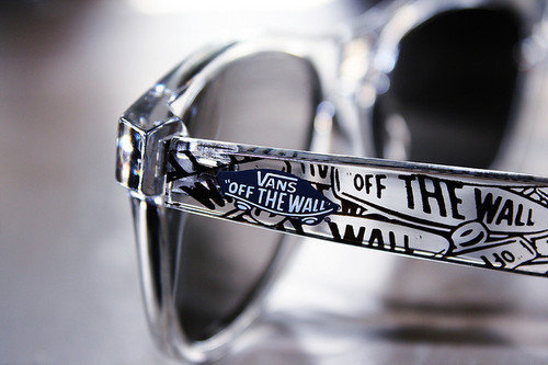 Vans: Off the Wall… Glasses stylee B)