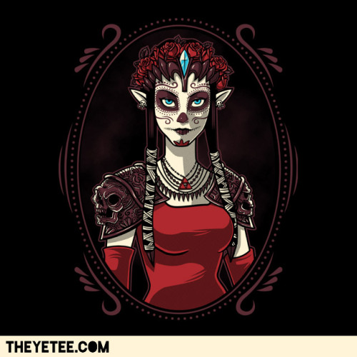 Dia de las Leyendas Too many awesome tees out there at the moment… this Princess Zelda is $11 today only at The Yetee! Created by Bamboota
