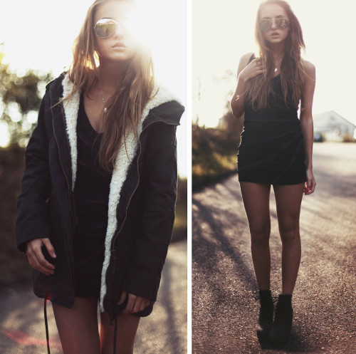 lookbookdotnu:  Don't ever change into something you're not. (by Jessica Christ)