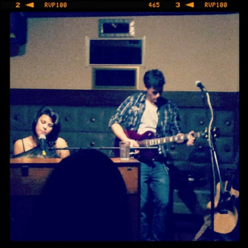 nva:  callmeadreamer8:  Nellie and Michael's first live performance as a duo!   This is a pretty sick picture :))(ps you should tweet it to me so I can retweet it ;))