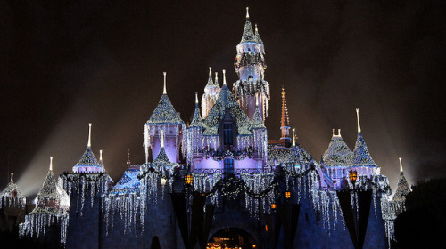 Sleeping Beauty Winter Castle on Flickr. I took this around this time last year! :)
