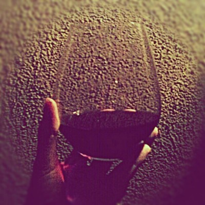 Night time is the right time to be with the wine you love. #wine #saturdaynight