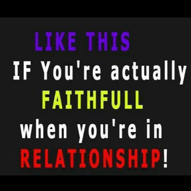 #like #faithful #relationship