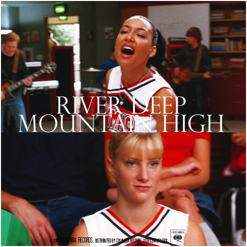 2x04 Duets | River Deep Mountain High Alternative Cover 'The Infinite Brittana Series'