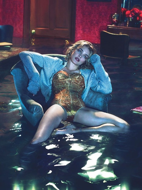 leahcultice:  Natalia Vodianova by Mert & Marcus for W Magazine December 2012