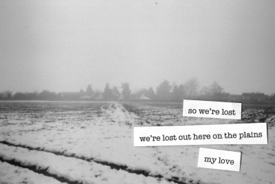 We're Lost (by Hannah Louise Curson)