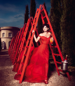 Penelope Cruz is Red Hot in the 2013 Campari Calendar