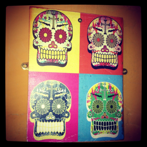 More skull goodness courtesy of the good folks at Mexico in Takapuna