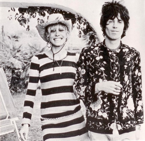 is-not-here:  Anita pallenberg and keith richards