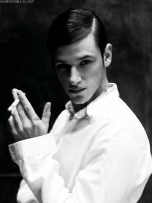 tracyvanity:  Gaspard Ulliel is so hot it hurts. fapfapfap