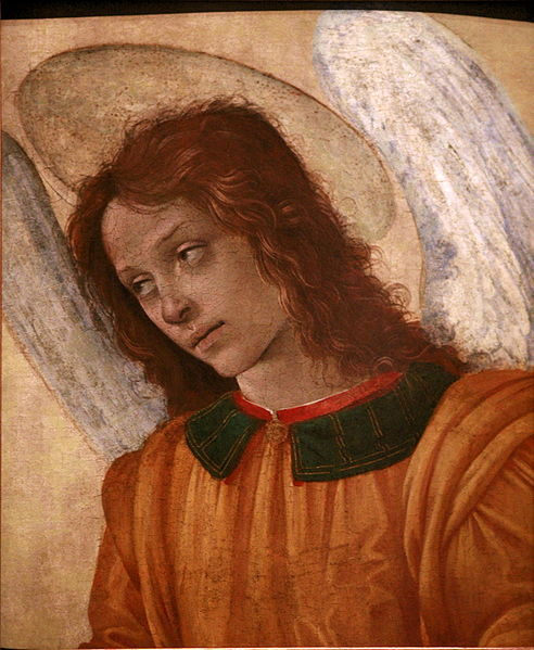 Bust of an Angel -Filippino Lippi
