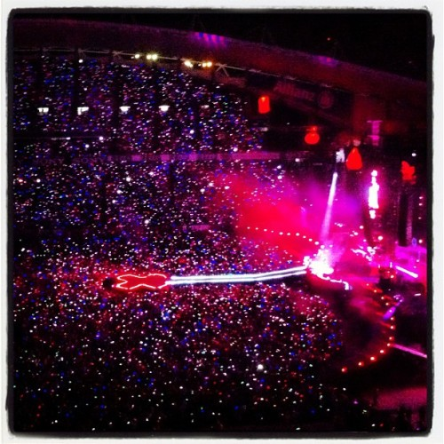 Coldplay live at Allianz Stadium in Sydney… www.fearmanphoto.com