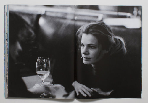 Cordula Reyer photographed by Peter Lindbergh