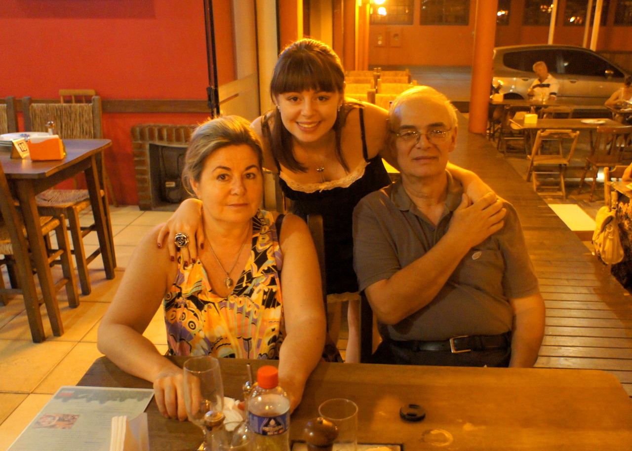 My 22th birthday dinner with mom and dad! (Nov 8th)