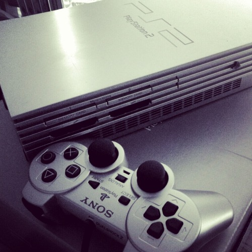 my sakura ps2 in black & white ^_^!