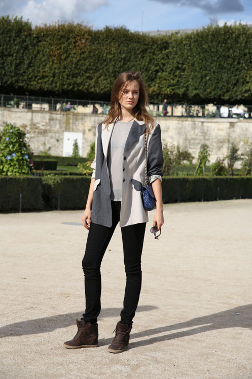 sheonlywears-chanel:  femme-belle:  Jac  streetstyle/fashion blog !♥