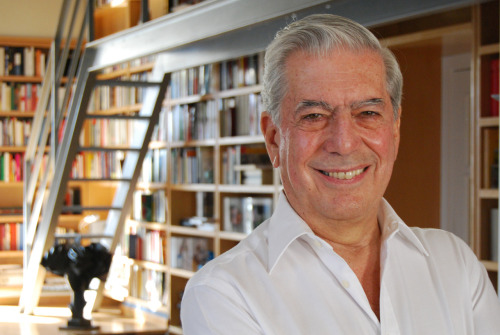 People Who Studied Abroad #507:Mario Vargas Llosa, writer and recipient of the 2010 Nobel Prize in Literature  From: Peru  Studied: In 1958, he received a scholarship to study at the Complutense University of Madrid (Spain).